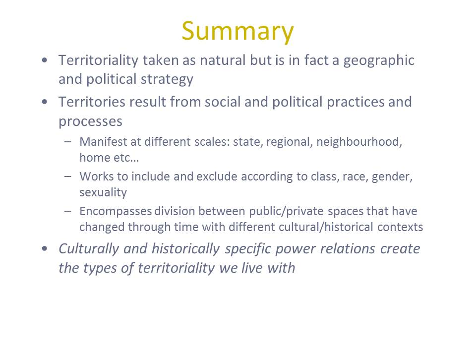 APHUG – Territoriality ~ Alex L. - YouTube